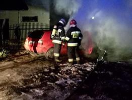 pożar noc mini
