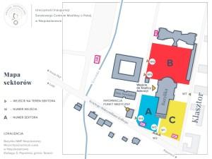 mapa sektorów