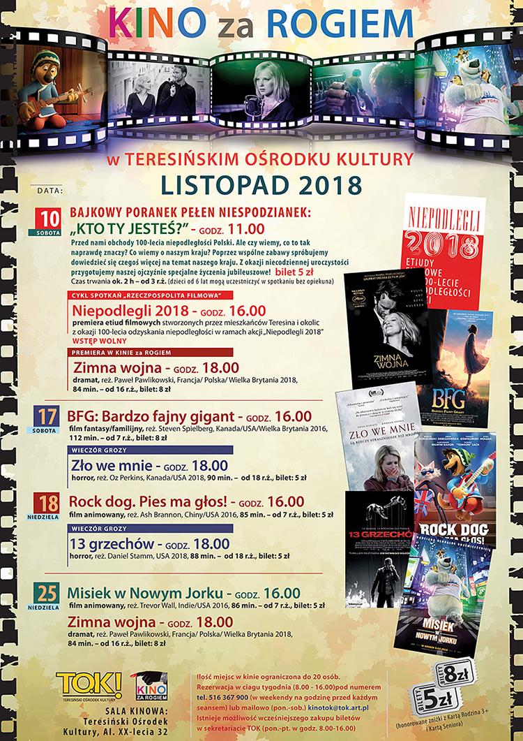 afisz repertuar listopad 2018 B1