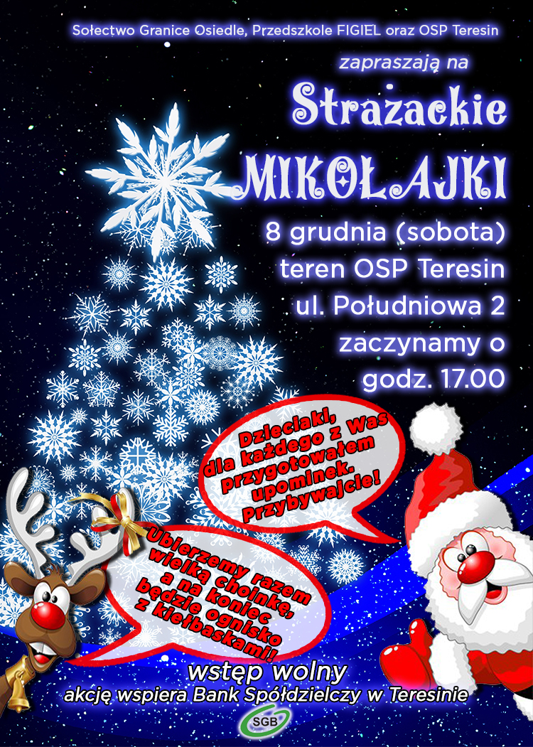 mikołajki 2018 plakat