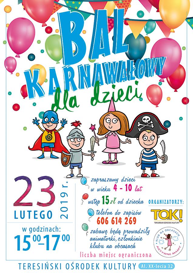 plakat_bal karnawalowy 2019