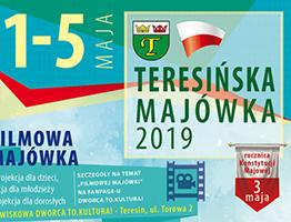 plakat Teresinska Majowka 2019